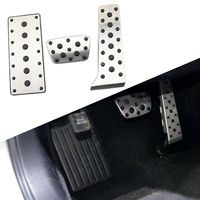 No Drill AT Pad Fuel Gas Accelerator Brake Pedal Cover Fit For Lexus RX200T RX350 RX450H 2015 2016 2017 2018 Accessories