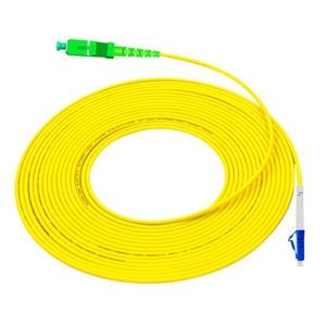 Image 4 - Patch Cord LC UPC to SC APC 1m Optical Cable LC G657A Optical Jumper Fiber PatchCord Simplex 2.0mm PVC Fiber Cable SC Connector