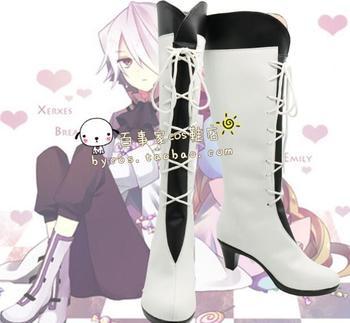 Custom Made Japanese Pandora Hearts Alice Boots Cosplay Shoes Boots Custom-made