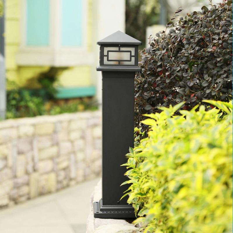 Retro græsplæne udendørs have gårdhave lamper vandtæt græs villa landskabslys 60cm Tall