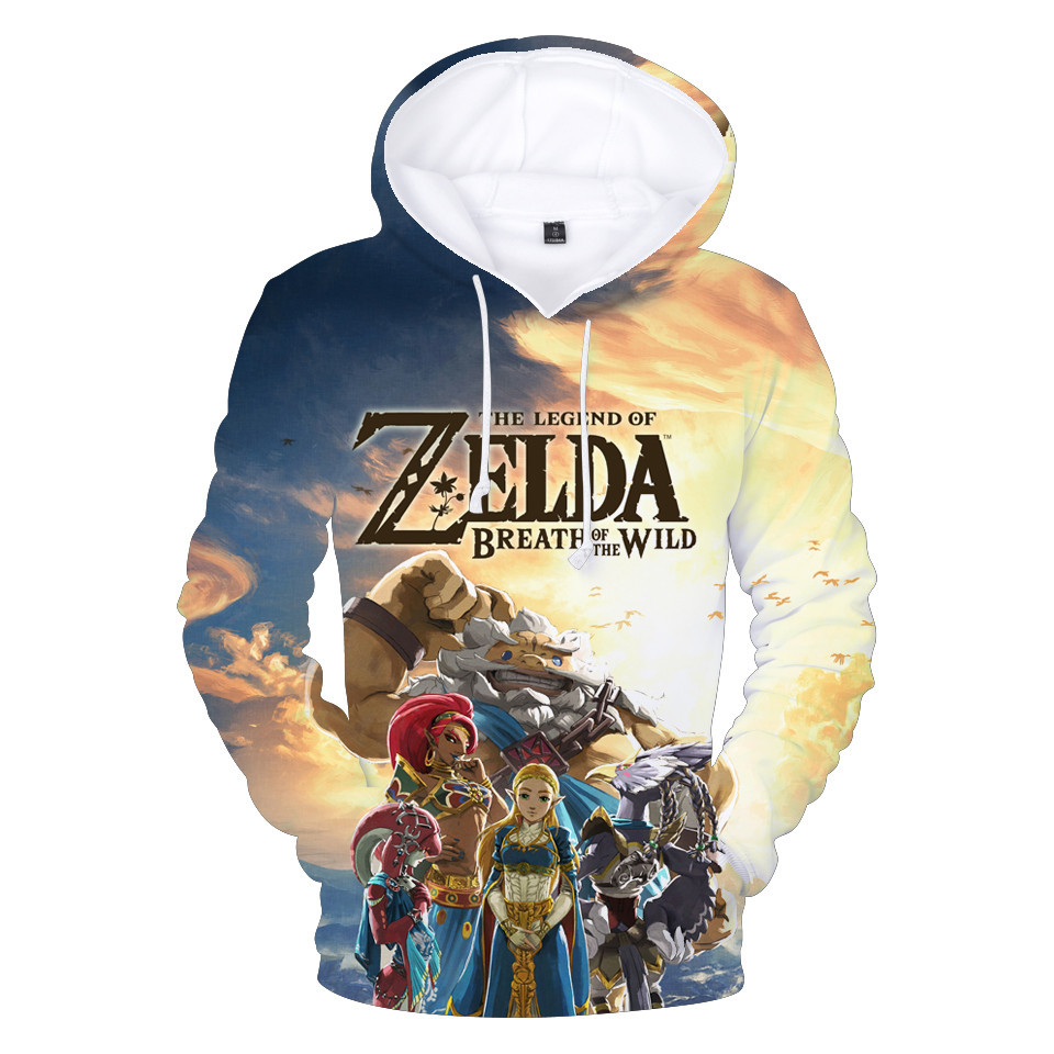 The Legend of Zelda: Breath of the Wild Game Series 3D Hoodies  1