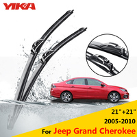 YIKA Car Rubber Windscreen Wipers Glass Wiper Blades For Jeep Grand Cherokee 21 21 Fit Hook
