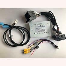Plug And Play Interface de vídeo do Carro Câmara de marcha Para 2016 Volvo VC60 Sensus Conectar Com Orientações Estacionamento