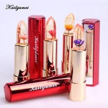 Kailijumei Magia Cambio de Temperatura de Color brillo de Labios Hidratante Brillante Maquillaje Cuidado de Los Labios del Lápiz Labial Comstics Superávit