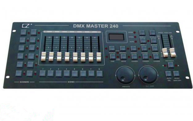 DMX 240;192 channel DMX console;DMX controller;control 12pcs 16CH light dmx512 digital display 24ch dmx address controller dc5v 24v each ch max 3a 8 groups rgb controller