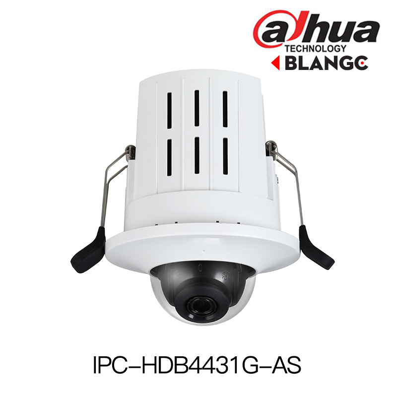Dahua IPC-HDB4431G-AS 4MP IP camera POE H.265 Built-in mic SD card slot HD Recessed Mount Dome Network Camera original english original dahua 4mp ipc hdbw4421r as ip network camera support poe