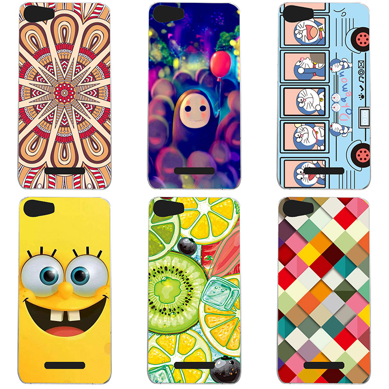 Soft TPU For Wiko Lenny 2  Case Cover Soft Silicon phone shell Colorful  printing Case For Wiko Lenny2  Painted Flower Cases