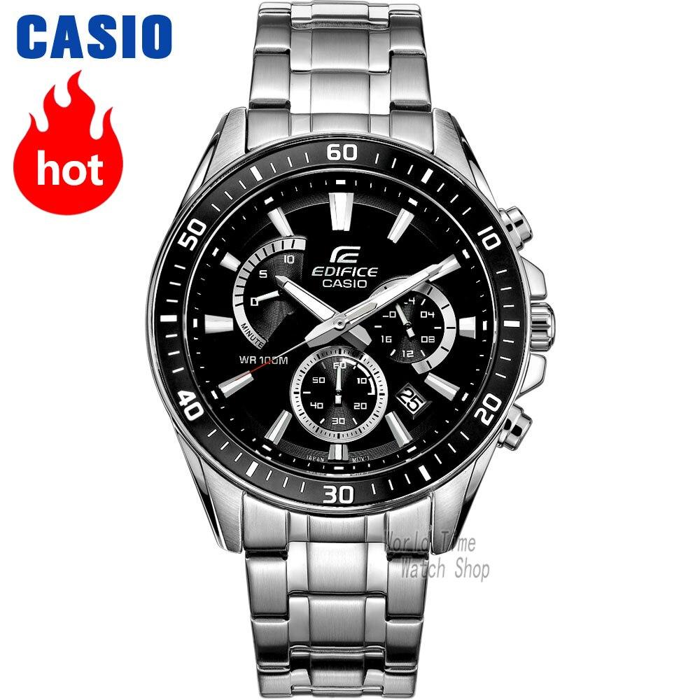 Zegarek Casio Edifice zegarek mężczyźni Wybuch top marka luksusowy zestaw kwarcowy 100 m Wodoodporny Luminous Chronograph mężczyźni zegarek Sport wojskowy Oglądaj nurkowanie Wrist Watch relogio masculino reloj hombre