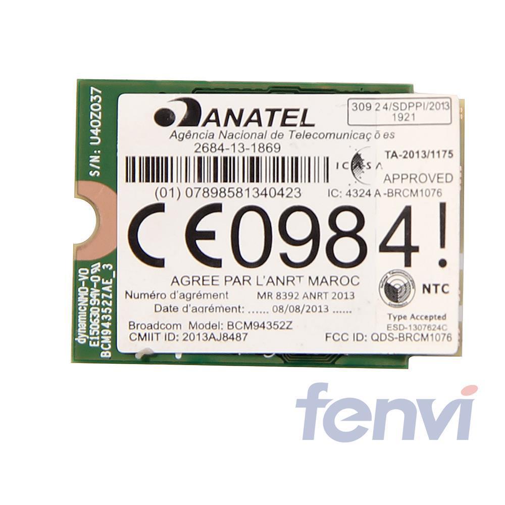Carte WIFI sans fil double bande NGFF 802.11AC Broadcom BCM94352Z - Équipement de réseau - Photo 3