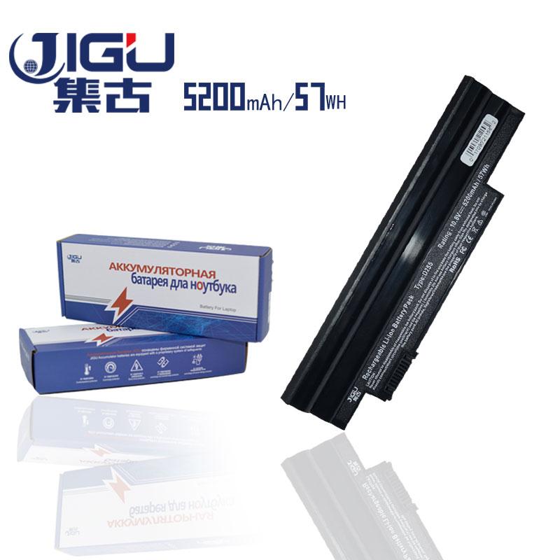 JIGU BT.00303.022 BT.00603.114 AOD260 D257 Battery For Acer Aspire One D255 AOD255 D260 D270 AL10A31