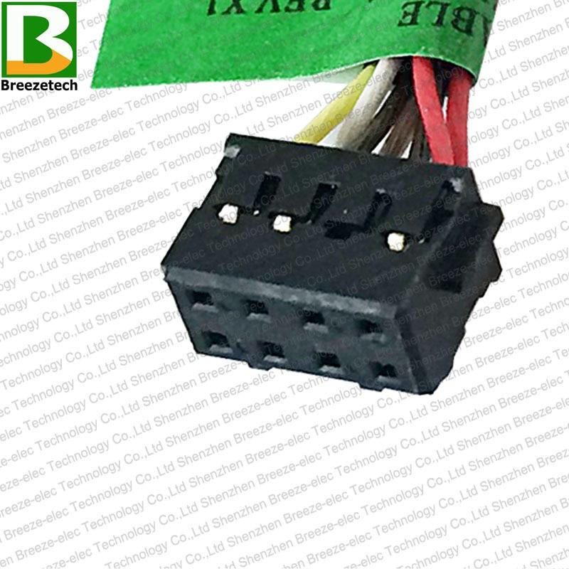 5PCS / lot Բնօրինակ նոթբուք DC Power Jack - Համակարգչային մալուխներ և միակցիչներ - Լուսանկար 5
