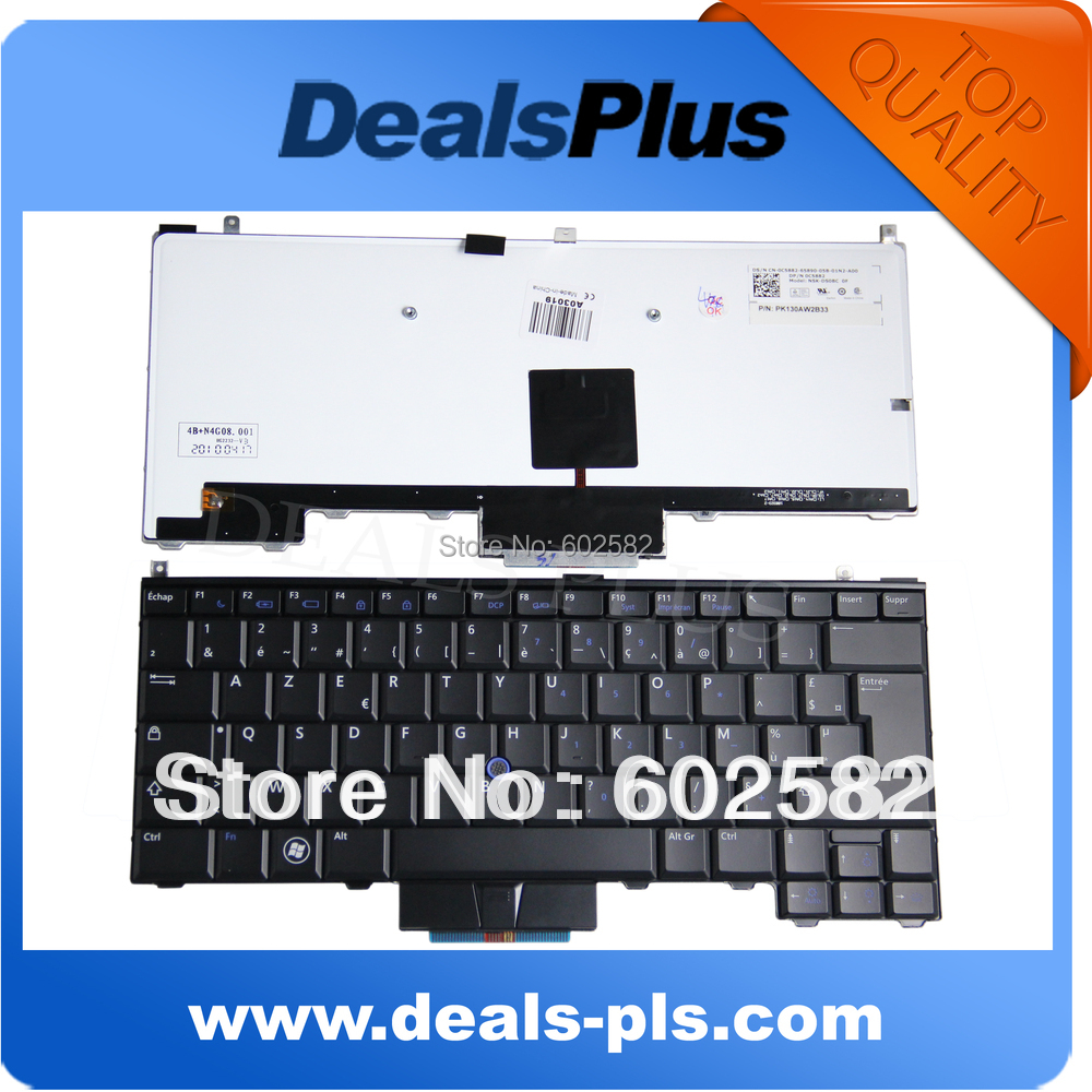 New French France FR Keyboard With Backlit Backlight For Dell Latitude E4200 E4300 E4310 C5882