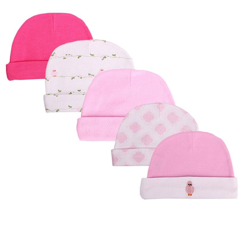Настоящее горячая распродажа характер мужская хлопок 0- 3 месяцев 4- 6 месяцев установлены шляпы и шапки, Детские шапки, 3 упак. Шапки и кепки для детей - Цвет: HP3006-6M