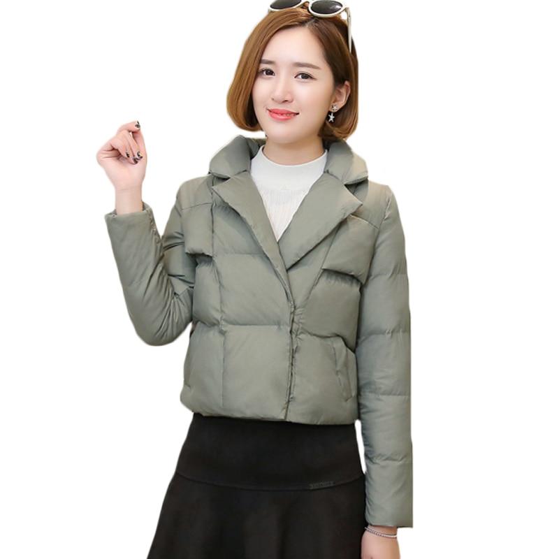 купить Vintage Womens Jacket Grey Black  Light Coffee Color Quilted Small Retro Lapels Winter Coat Size S M L XL for Female Parka XH535 дешево