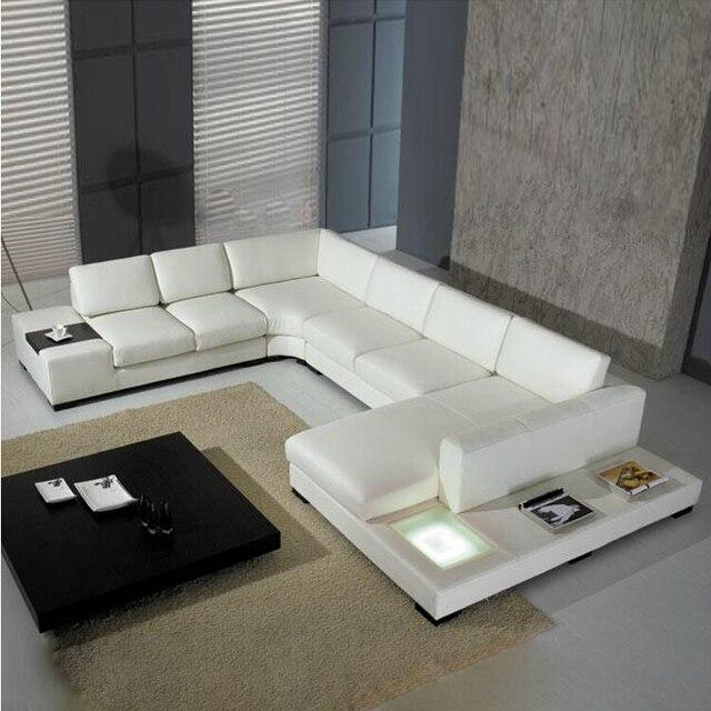 2015 nuevo estilo moderno sofá casa venta caliente usado cuero ...