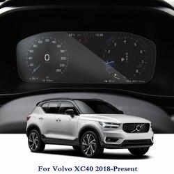 עבור וולוו XC40 2018-הווה GPS ניווט מסך זכוכית מגן סרט לוח מחוונים תצוגת סרט פנימי אביזרי רכב מדבקות