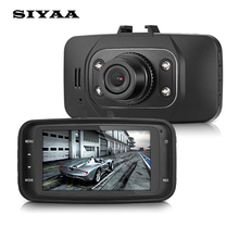 SIYAA Original GS8000 Car DVR Video Recorder Vehicle Camera Dvrs 2.7″ LCD HD1080P With Night Vision Cycle Recording Dash Cam