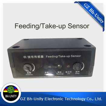 Best price!!infiniti challenger FY-3208H FY-3028G FY-3208R spare parts of feeding sensor take up sensor for sale brand new good quality inkjet printer parts infiniti feeding sensor take up sensor for solvent printer on sale