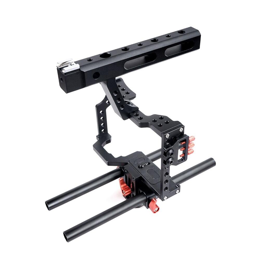 Caja estabilizadora de video para cámara Rig DSLR de 15 mm + Caja de - Cámara y foto - foto 5