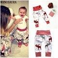 WANGSAURA Newborn Infant Baby Boy Girl Cotton Cute Animal Cartoon Bottom Harem PP Pants Trousers