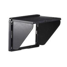 NEWYI 液晶フード/太陽シェード & ハードスクリーンプロテクターとカメラ用 3.0 インチ画面高輝度ライト