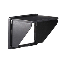 Newyi lcd 후드/sun shade & 밝은 빛으로 3.0 인치 화면이있는 카메라 용 하드 스크린 프로텍터