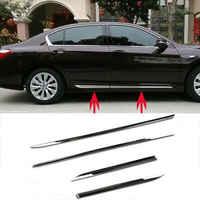 Dla Honda Accord 2013-16 korpus ze stali nierdzewnej drzwi boczne Molding Sill wykończenia