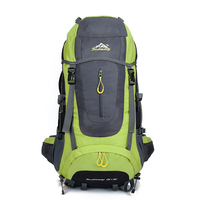 65L+5L Waterproof Climbing Hiking Backpack Outdoor Trekking Travel Daypack for Hiking Camping Mountaineering Backpacking Packs