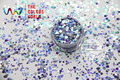 RI321-324  Mix size Mix Colors round dot  shape  for Nail Art  and DIY supplies