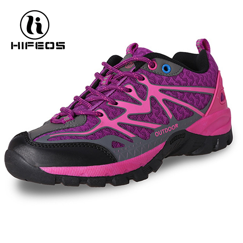HIFEOS lady couple outdoor hiking shoes comfortable sneakers low-top breathable trekking boot wear-resistant  anti-slip M029 new hot sale children shoes comfortable breathable sneakers for boys anti skid sport running shoes wear resistant free shipping