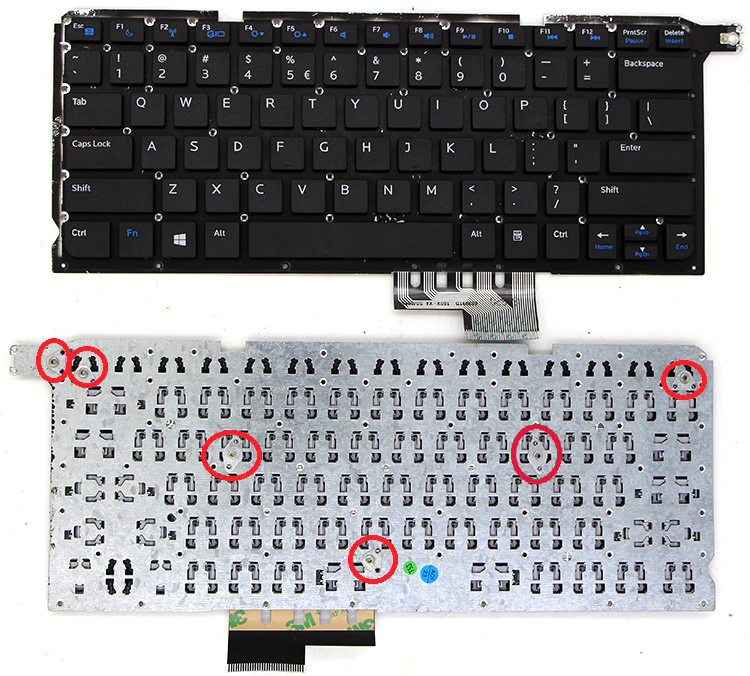 Prix pour SSEA Nouveau US Clavier pour DELL Vostro 14Z 5460 V5460 5460D 5470 5439 clavier d'ordinateur portable Anglais