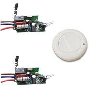 AC 220V 1 CH Relay Receiver Remote Switch Input AC220V Output AC220V Wireless Switch 315/433.92MHZ