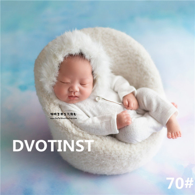 Dvotinst Newborn Baby Photography Props Posing Mini Sofa Chair+Knit Plush Costume Outfit Photo Prop Accessories Studio ShootsDvotinst Newborn Baby Photography Props Posing Mini Sofa Chair+Knit Plush Costume Outfit Photo Prop Accessories Studio Shoots