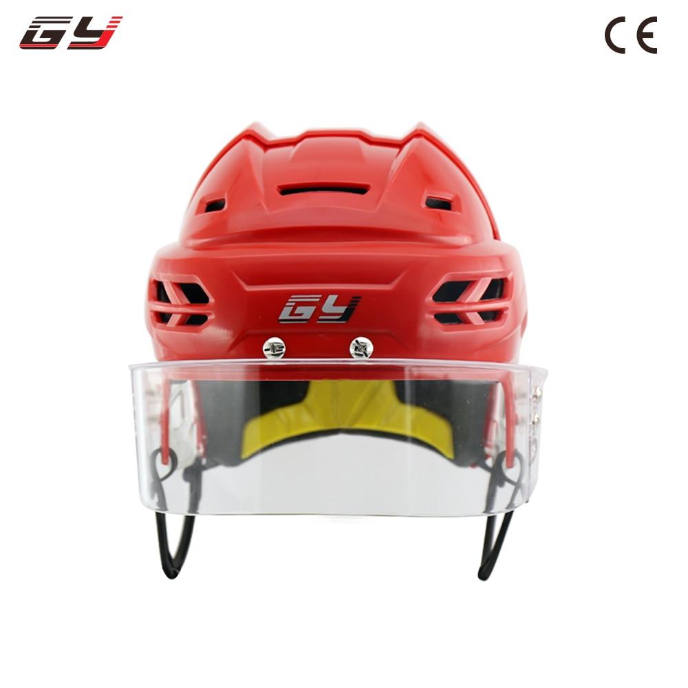 GY Sports ice hockey helmet equipment fast Anti-impact helmets man kids head protection multi-color multi-size free shipping