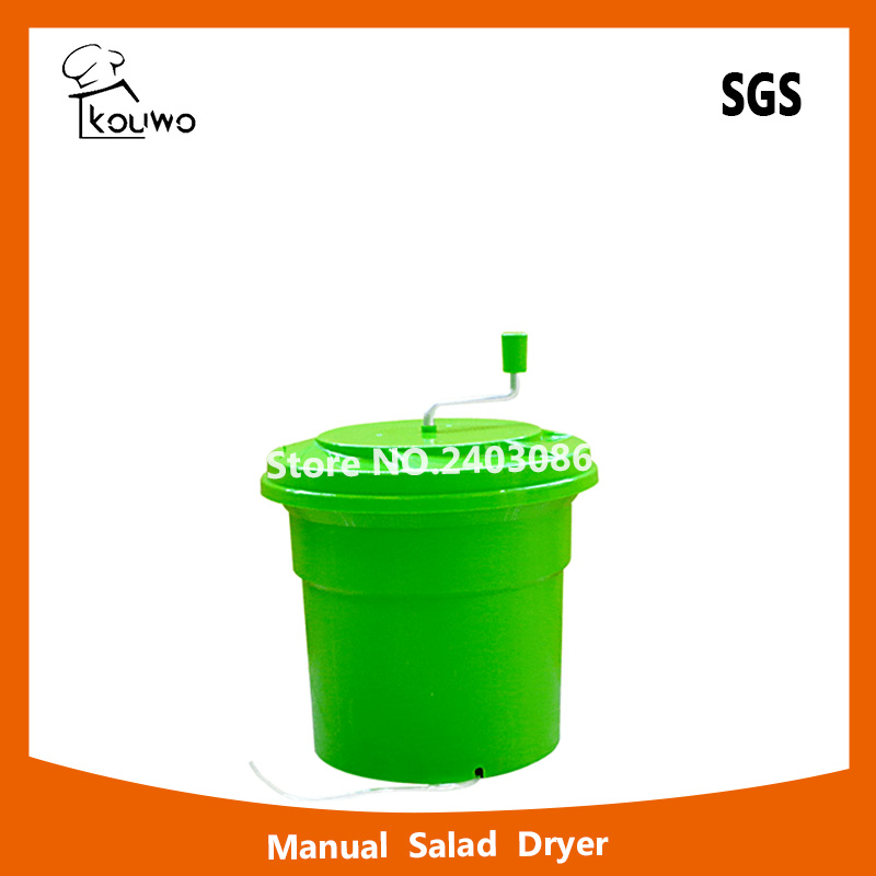 High quality manual press 12 liter Plastic PP fruit Vegetable Salad Spinner and dryer for food machine casio tq 358 2e
