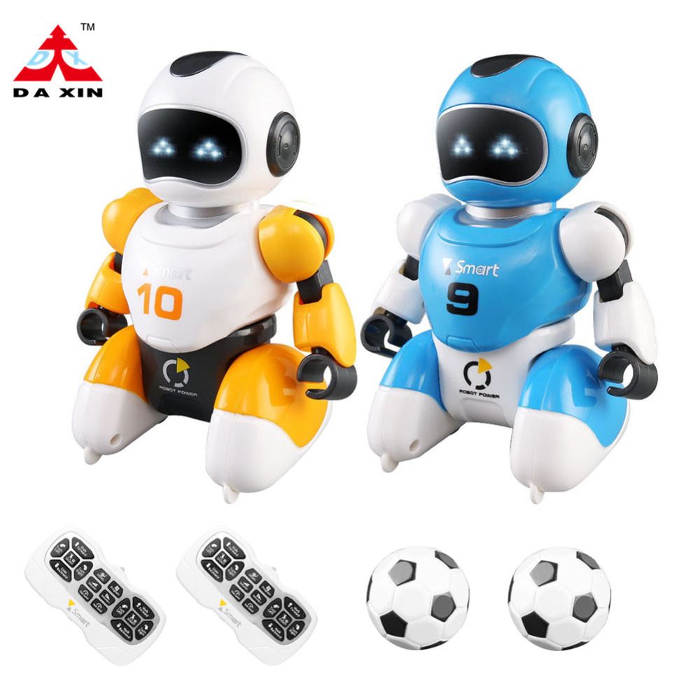 Smart Remote Control Play Soccer Robot Battle Toys Electric Singing Dancing Football Robot For Children Kids Toys