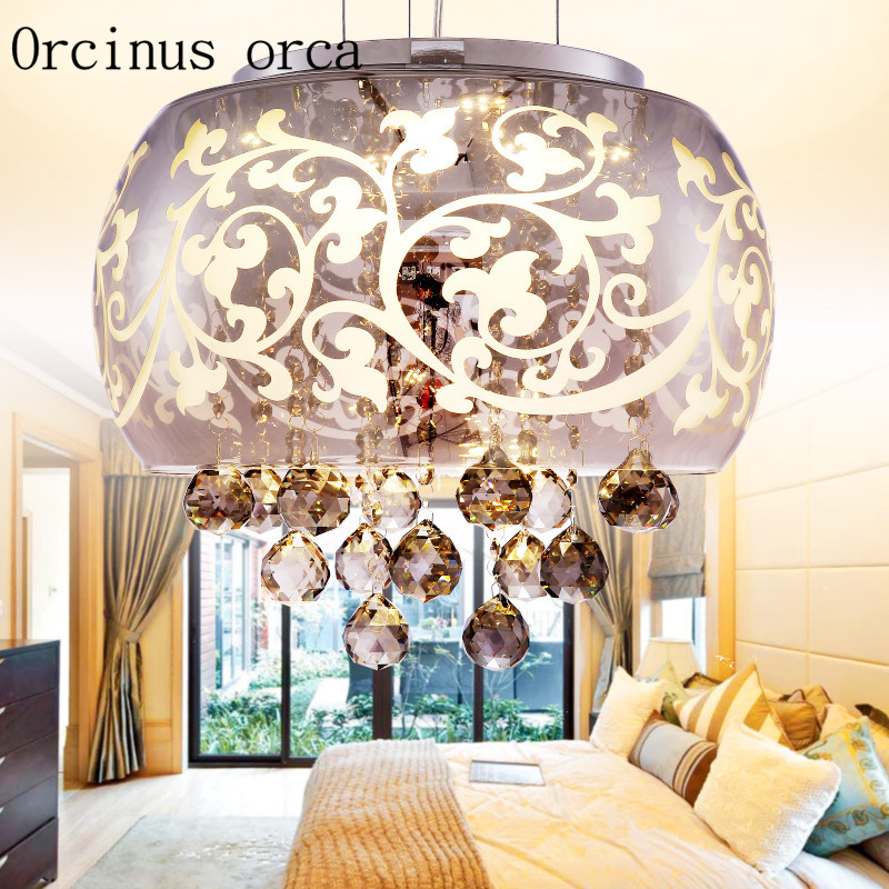 Antique Style Dining Room Chandeliers: LED Modern Crystal Lamp Bedroom Dining Room European Style