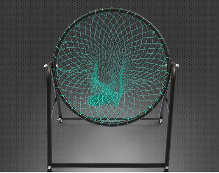 Angle Adjustable Golf Cage Steel Frame Golf Training Net Outdoor Portable Golf Practice Net simulation mini golf course display toy set with golf club ball flag