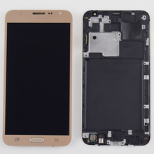 46d32ca3d50 Para Samsung Galaxy J7 2015 pantalla táctil digitalizador de montaje de  pantalla para Samsung J700 pantalla
