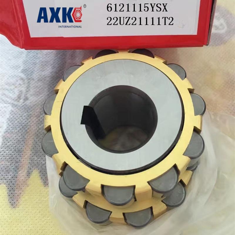 AXK  KOYO  overall eccentric bearing 6121115YSX  22UZ21111T2 axk koyo brass cage single row eccentric bearing 617ysx 60uzs87