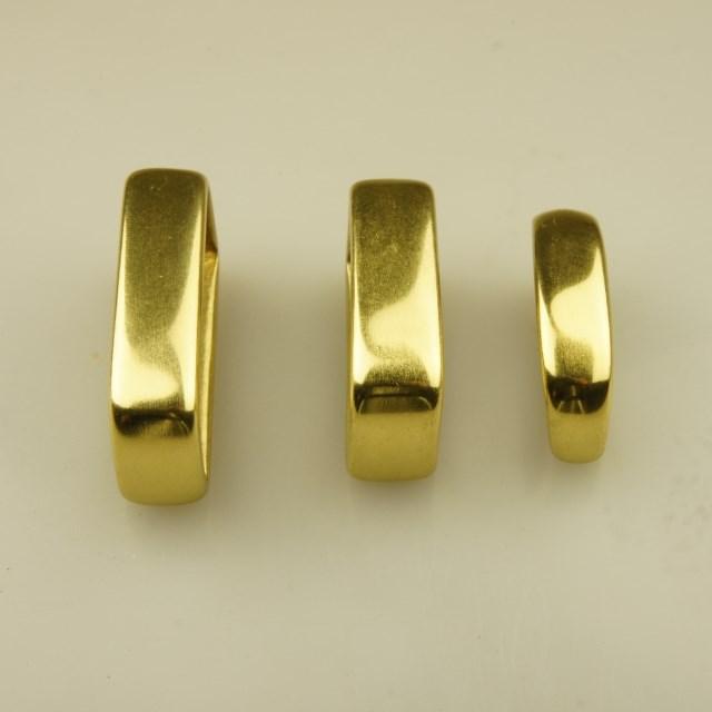 3 Sizes D Shape Ring for Belts Bags Decor DIY Leathercraft Belt Loop Keeper