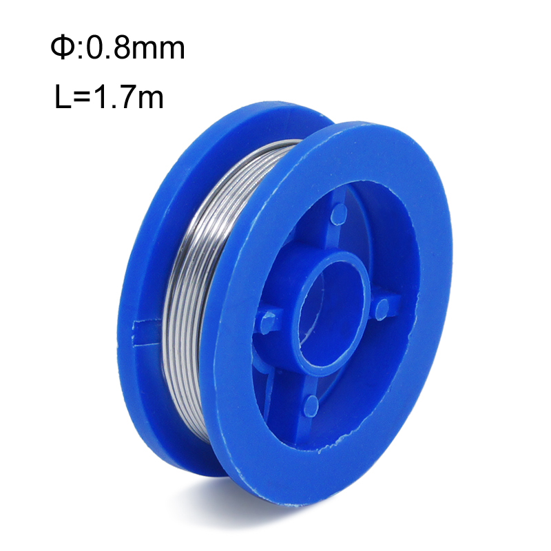 New Rosin Core Tin Lead 0.8mm Solder Soldering Welding Iron Wire Reel Welding High Quality Сварка