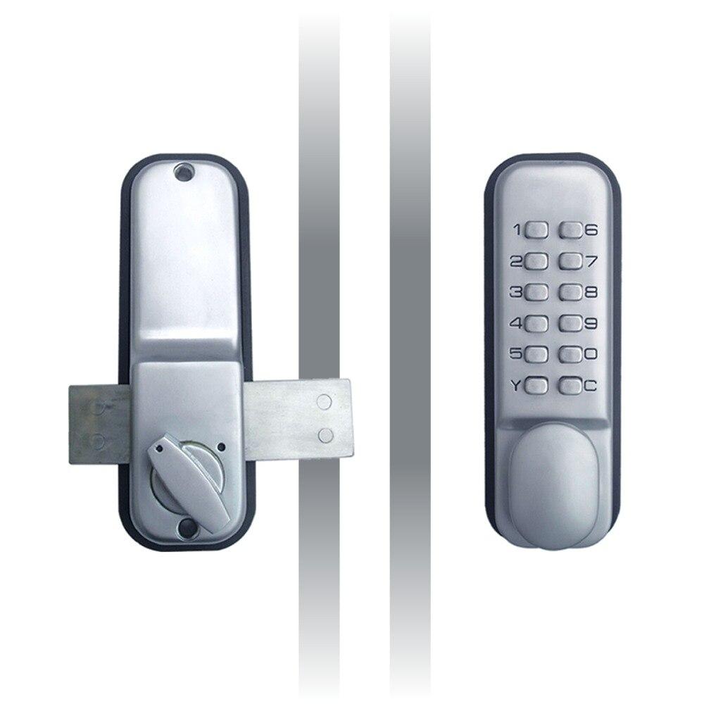 ФОТО mechanical door locks digital code door lock All weather waterproof Zinc Alloy The 1th generation of OS25A