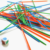 50 piezas contando palos de juegos para los niños de los adultos de la familia matemáticas Montessori soldador palos dados con junta de educación juegos