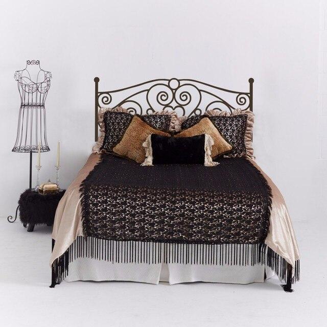 US $20.99 |Kopfteil Wandtattoo Vinyl Kunst Aufkleber Shabby Chic Bett  Wandtattoo für Schlafzimmer Kopfteil für Doppelbett 63,5 cm x 152,4 cm in  ...
