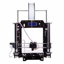 HICTOP Acrylic Prusa I3 DIY 3D Printer, Max Printing Size 270*210*200mm, with LCD Screen