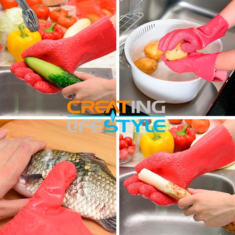 Peeling Potato Gloves