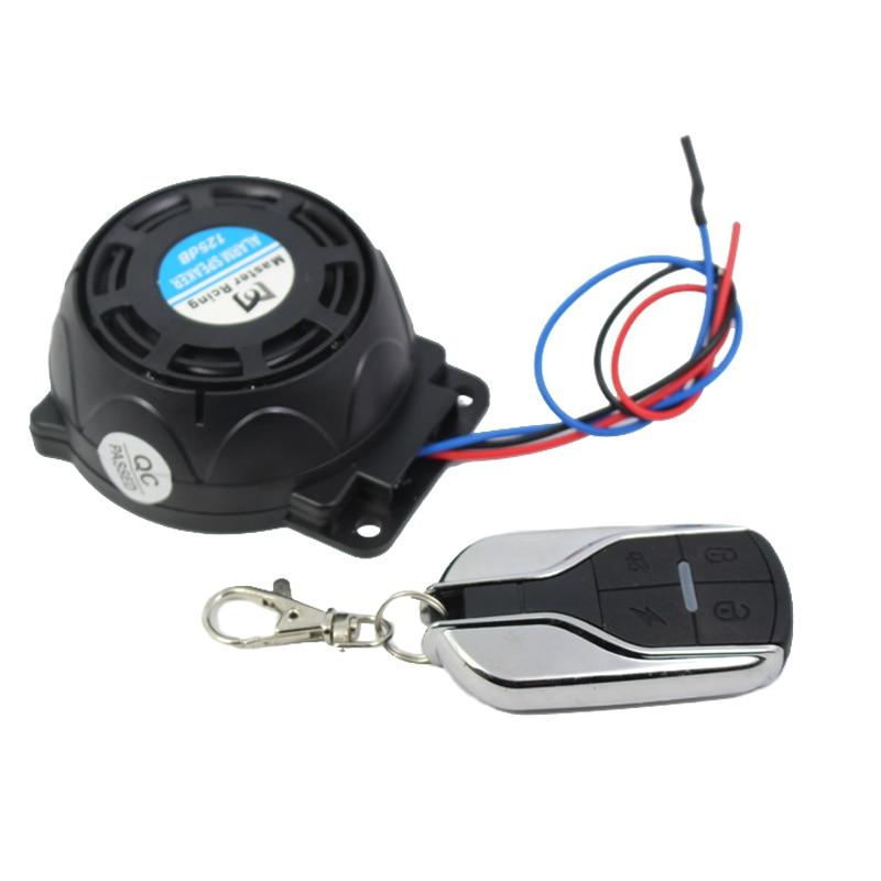 9-16v 125dB Motocykl Alarm Scooter Moto Anthi system kradzieży dla - Akcesoria motocyklowe i części - Zdjęcie 4