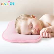 Brand Baby Pillow Newborn Toddler Safe Anti Roll 0 3 6 M Infant Pillow Sleep Head Positioner Preventing Flat Head