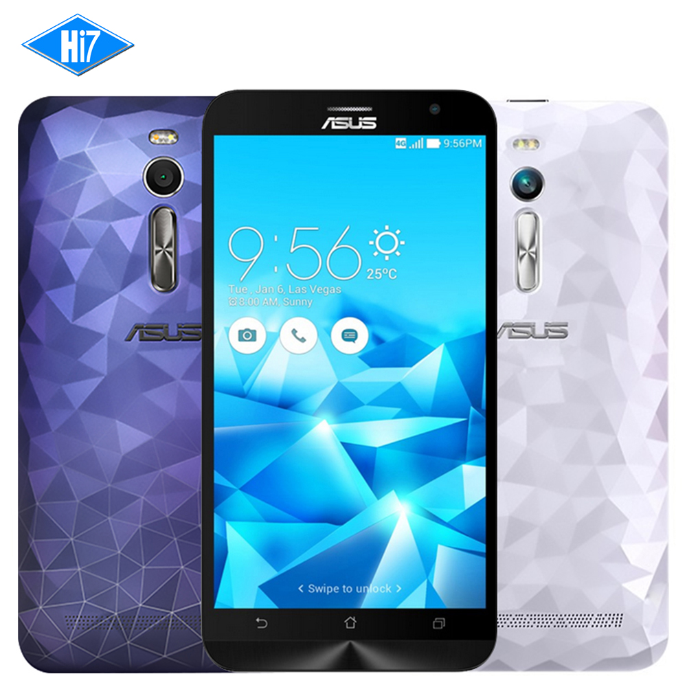 "NEW Asus ZenFone 2 Deluxe ZE551ML 4G smartphone FDD LTE Intel Z3580 2.3Ghz 64Bit Quad Core 5.5"" FHD 4GB RAM 32G Android 5.0"